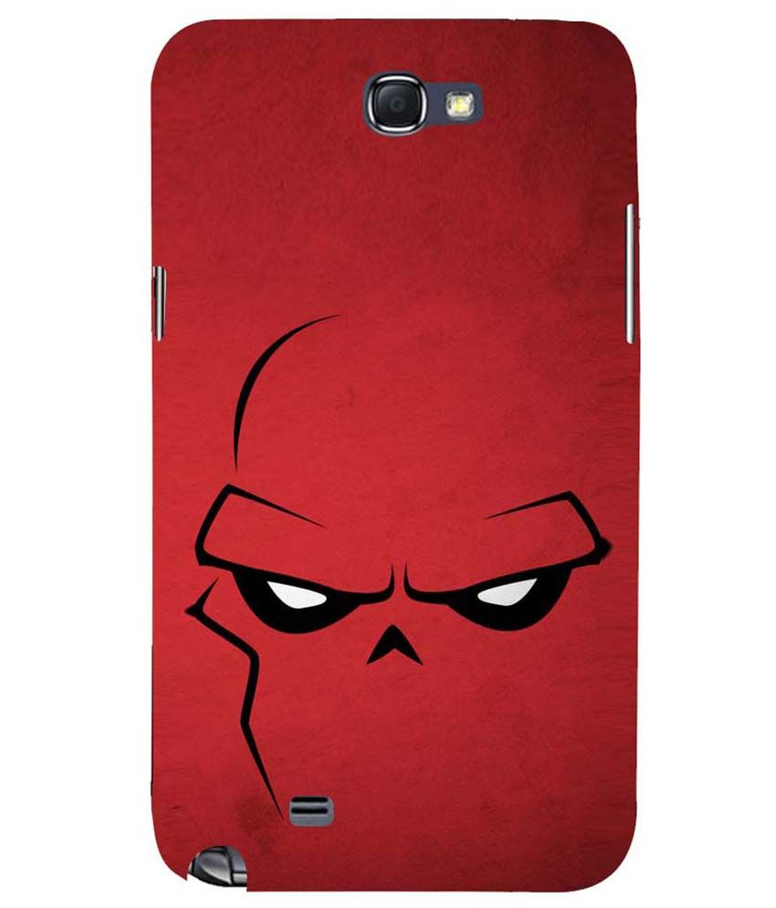 sports shoes d3b49 faaa3 Mobile Makeup Red Eyes Back Cover for Samsung Galaxy Note 2 - Red ...