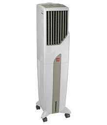 Cello 50ltr TOWER 50 Personal Coolers White & Green