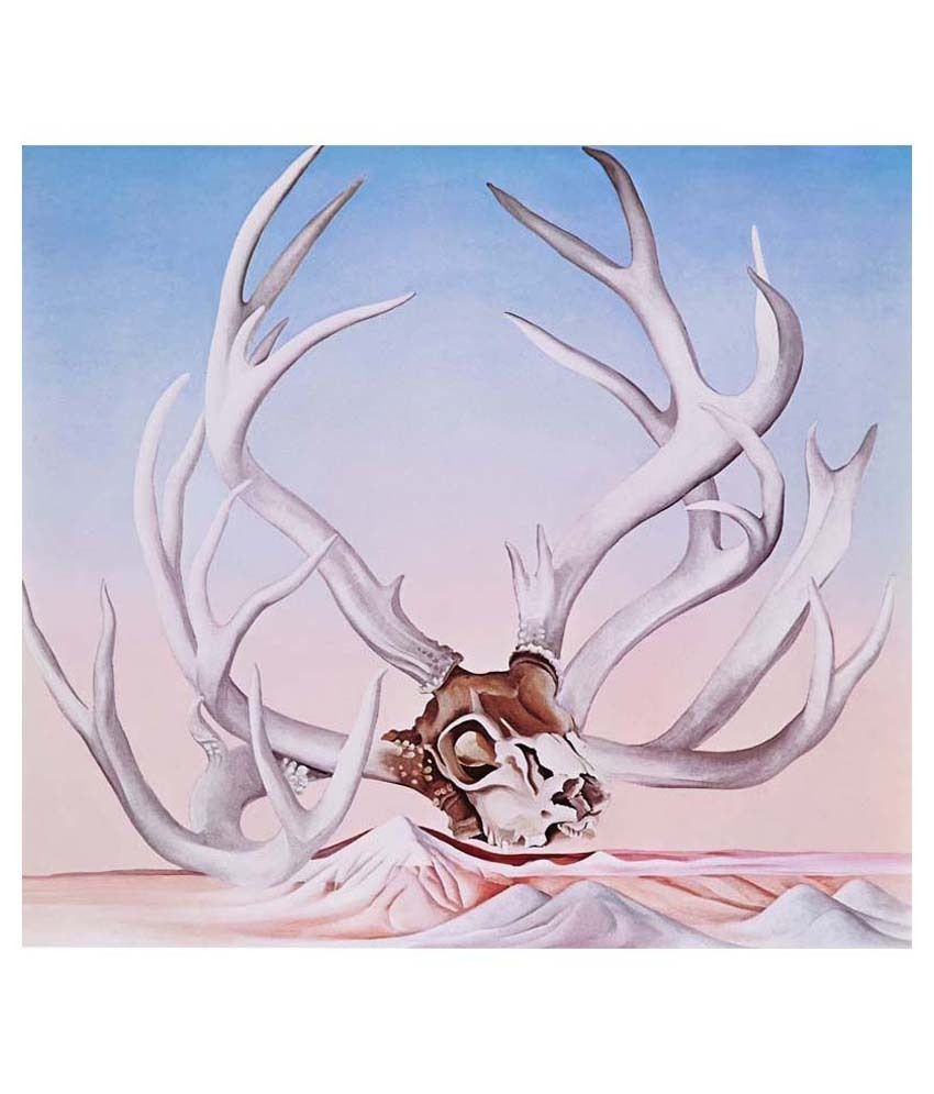 Tallenge From Faraway Nearby By Georgia O'Keeffe Gallery Wrap Canvas Art Print