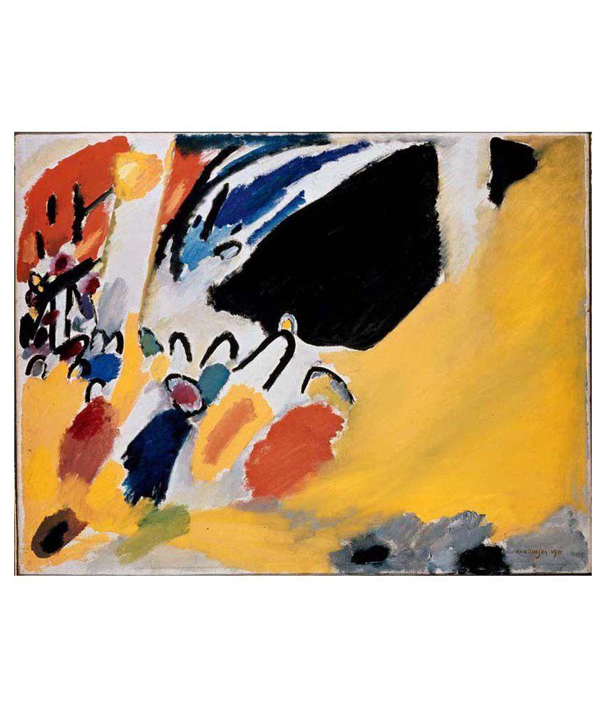 Tallenge Konser By Wassily Kandinsky Gallery Wrap Canvas Art Print