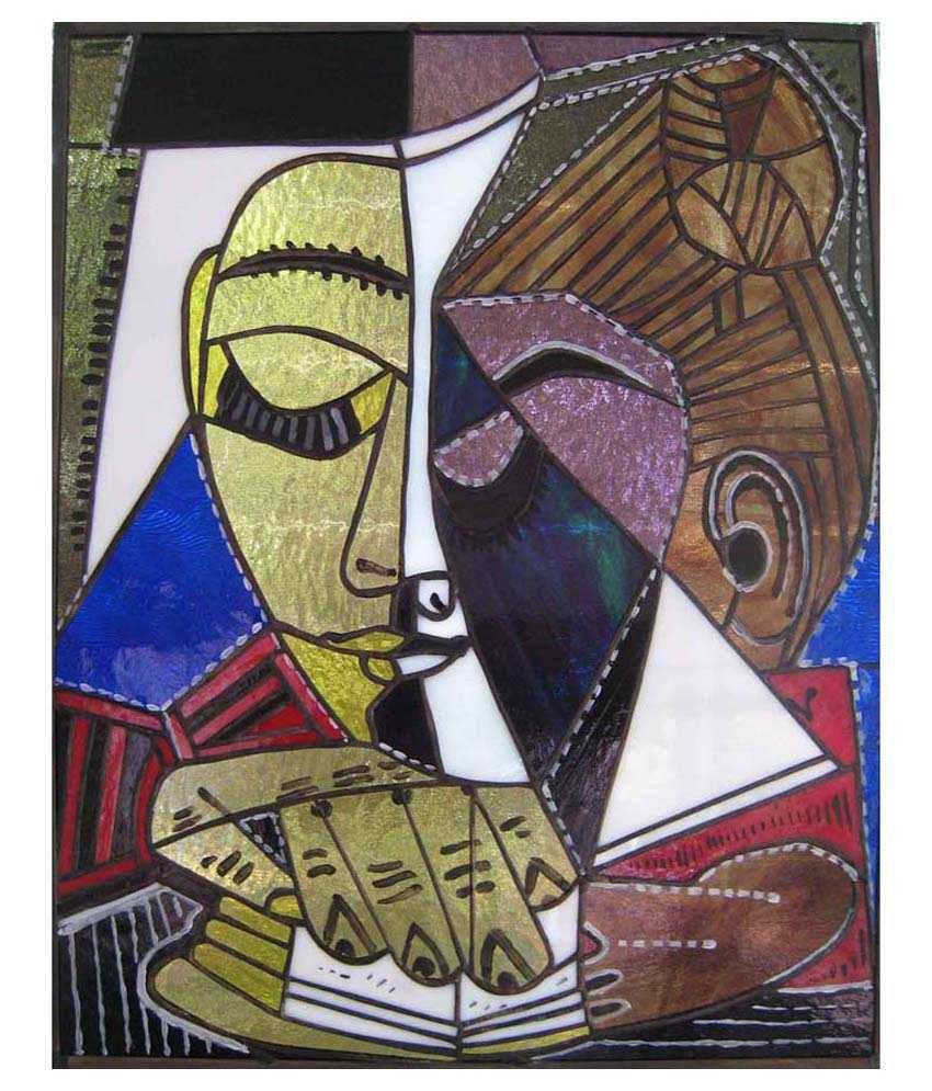Tallenge Tete D'Une Femme Lisant By Pablo Picasso Gallery Wrap Canvas Art Print