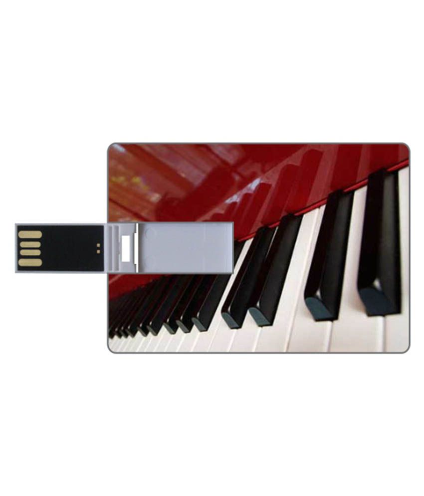 Via Flowers 16 Gb Pen Drives Multicolor