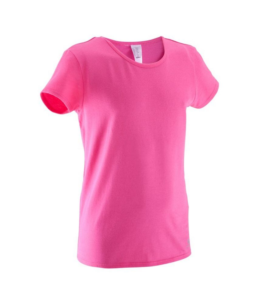2f9b1a555 Domyos Gym T-Shirt Girls: Buy Online at Best Price on Snapdeal
