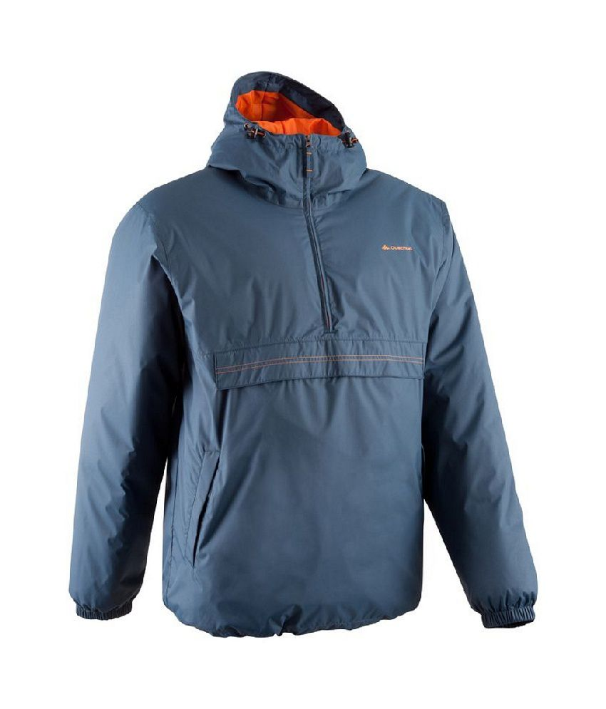 Quechua Raincut Warm Men Waterproof Hiking Jacket