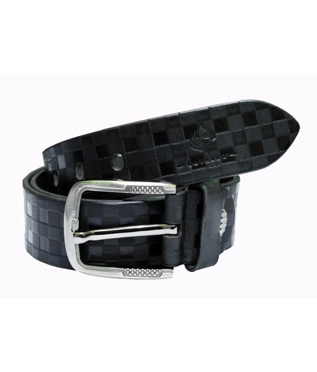 Cavallo Black Casual Belt