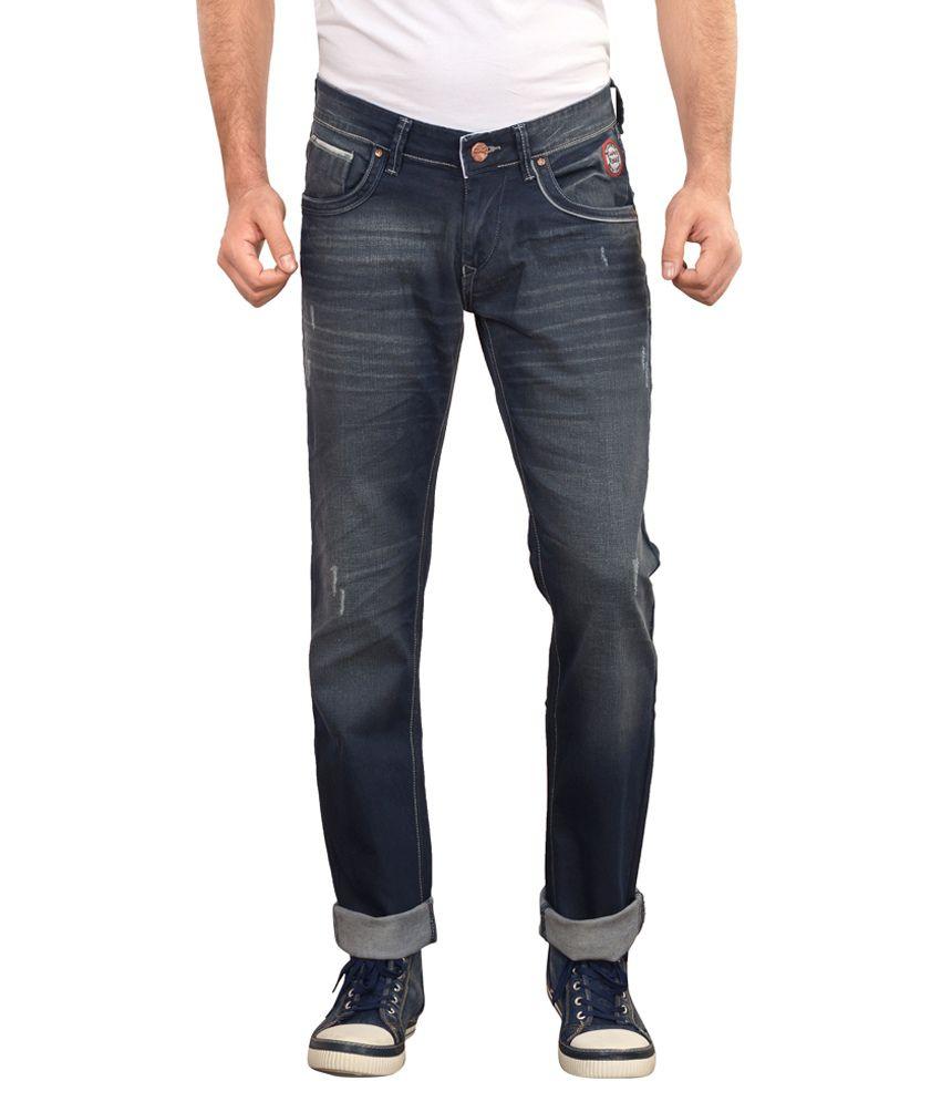 Glabrous Black Slim Fit Jeans
