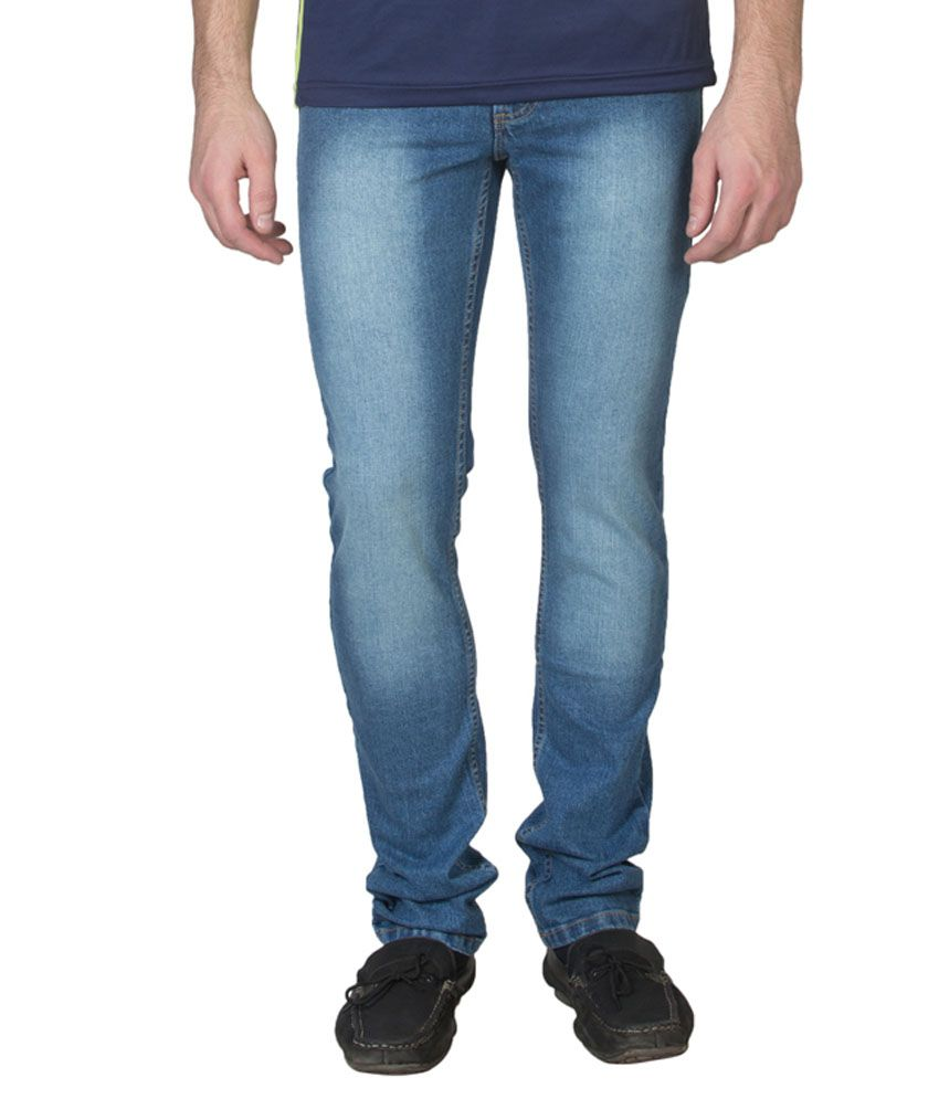 Ruf & Tuf Blue Skinny Fit Jeans