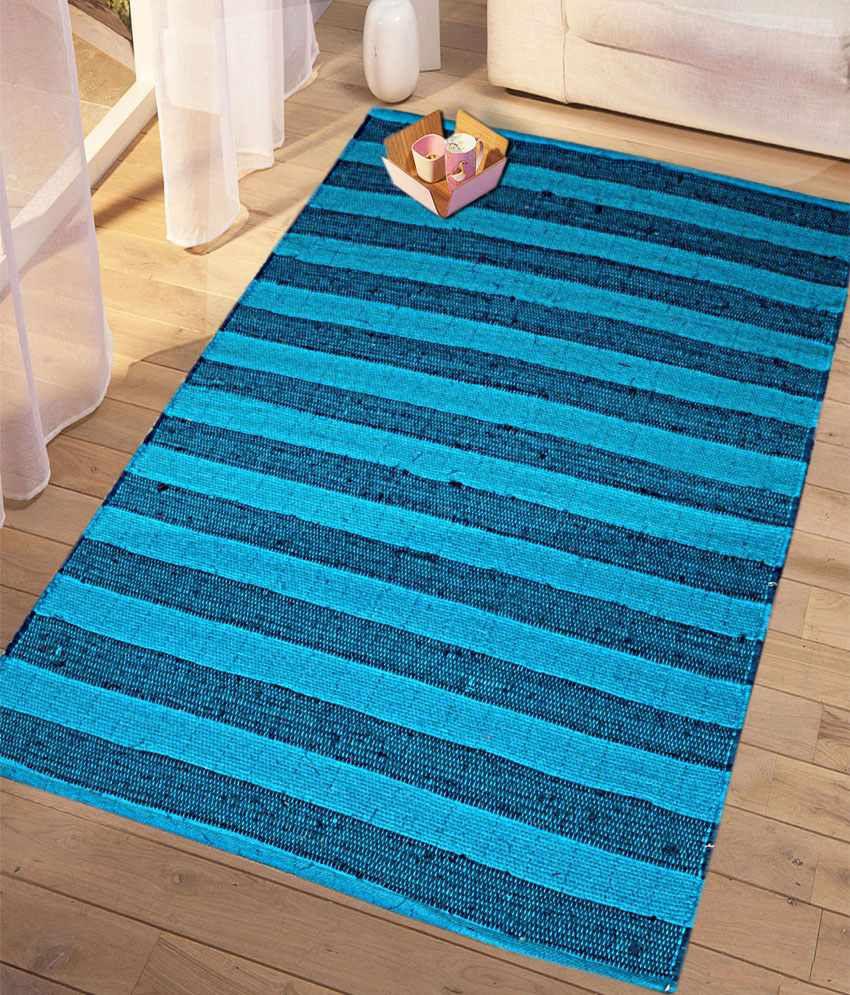 Saral Home Gray Single Floor Mat