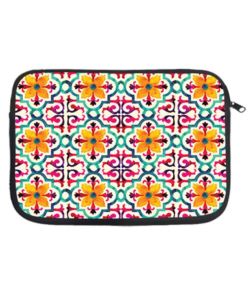 Via Flowers Nice Laptop Sleeve - Multicolour