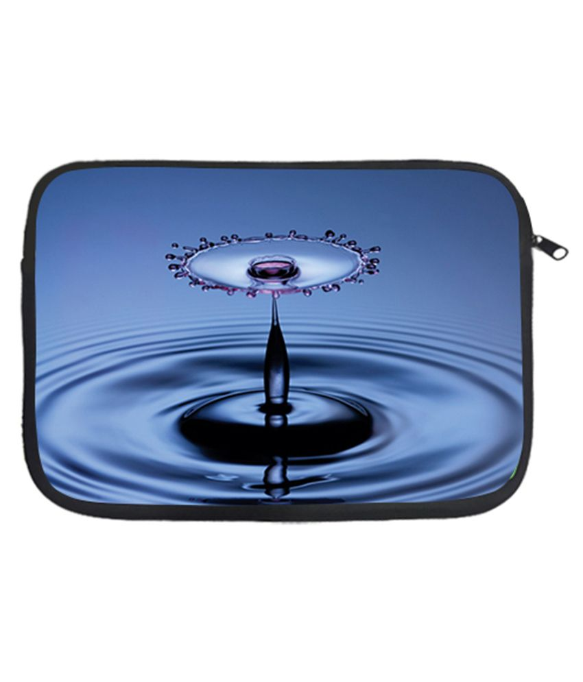 Via Flowers Water Drop Laptop Sleeve - Multicolour