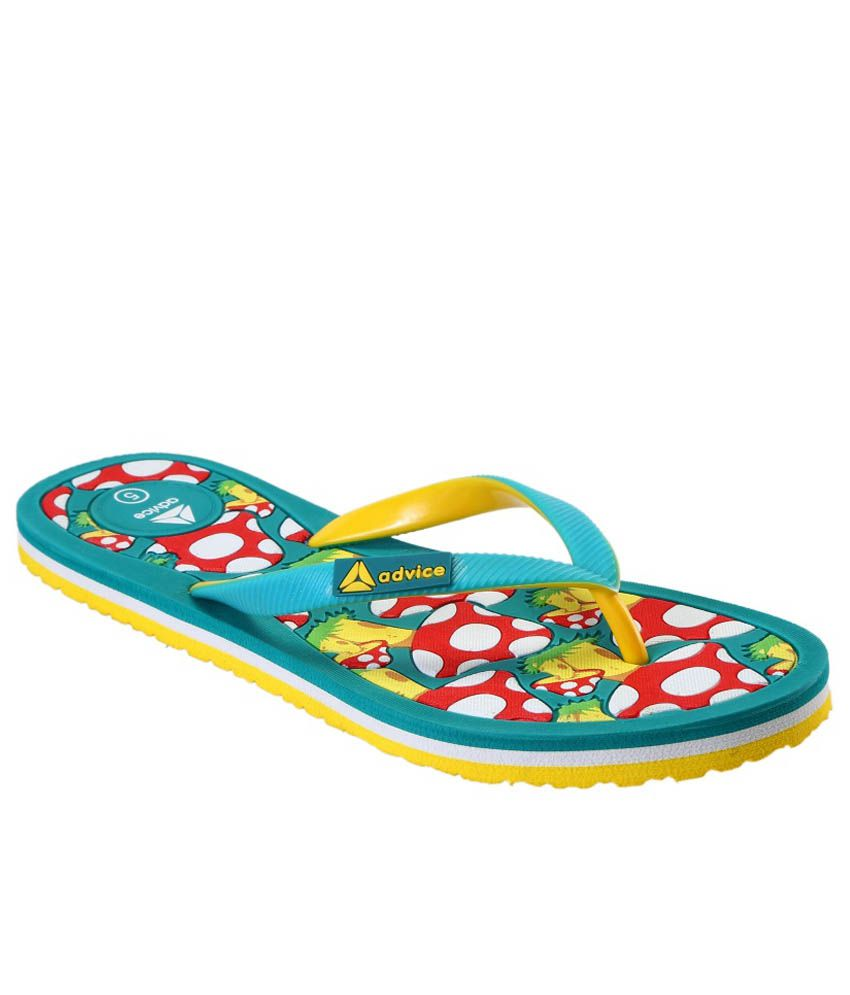 Advice Turquoise Slippers