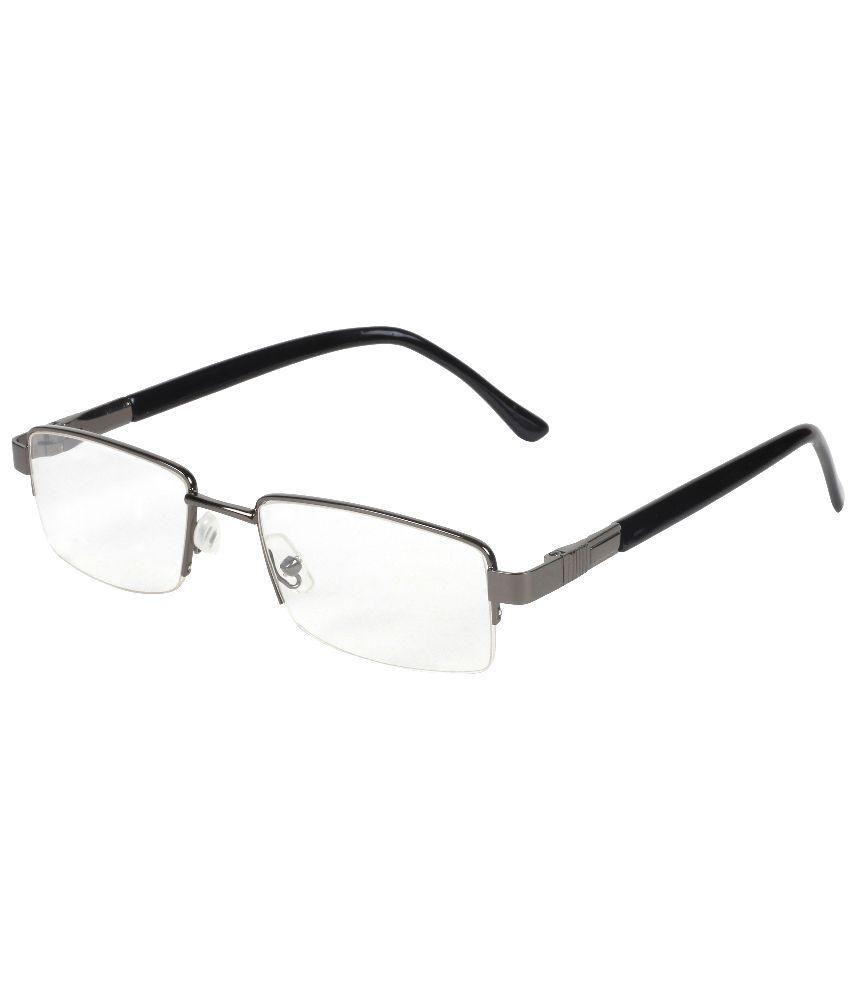 Lavish Blink Black Rectangle Frames Eyeglasses for Men - Buy Lavish ...