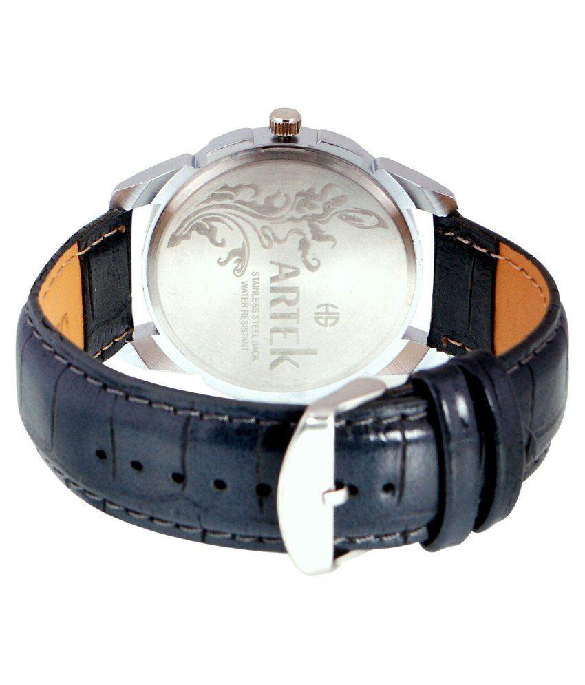 Artek White Leather Wrist Watch For Men - Buy Artek White ...