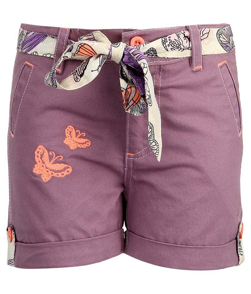 Bells & Whistles Purple Shorts