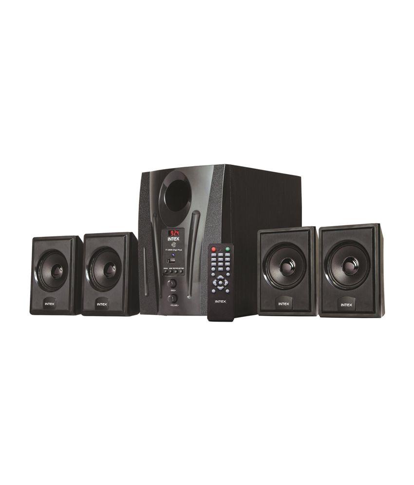 Buy Intex It 2655 Digi Plus 4 1 Speaker System Online At