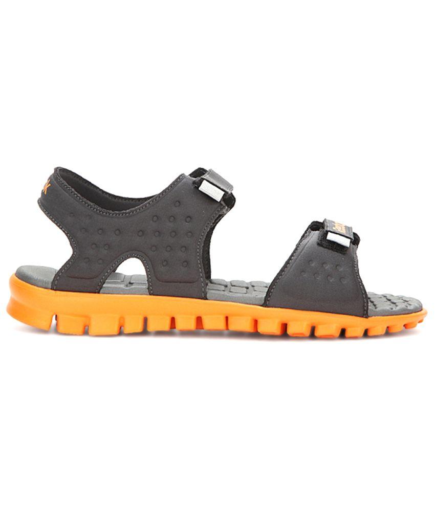 36f6554d9ad2 Reebok Ultra Flex 1.5 Gray   Orange Floaters - Buy Reebok Ultra Flex ...