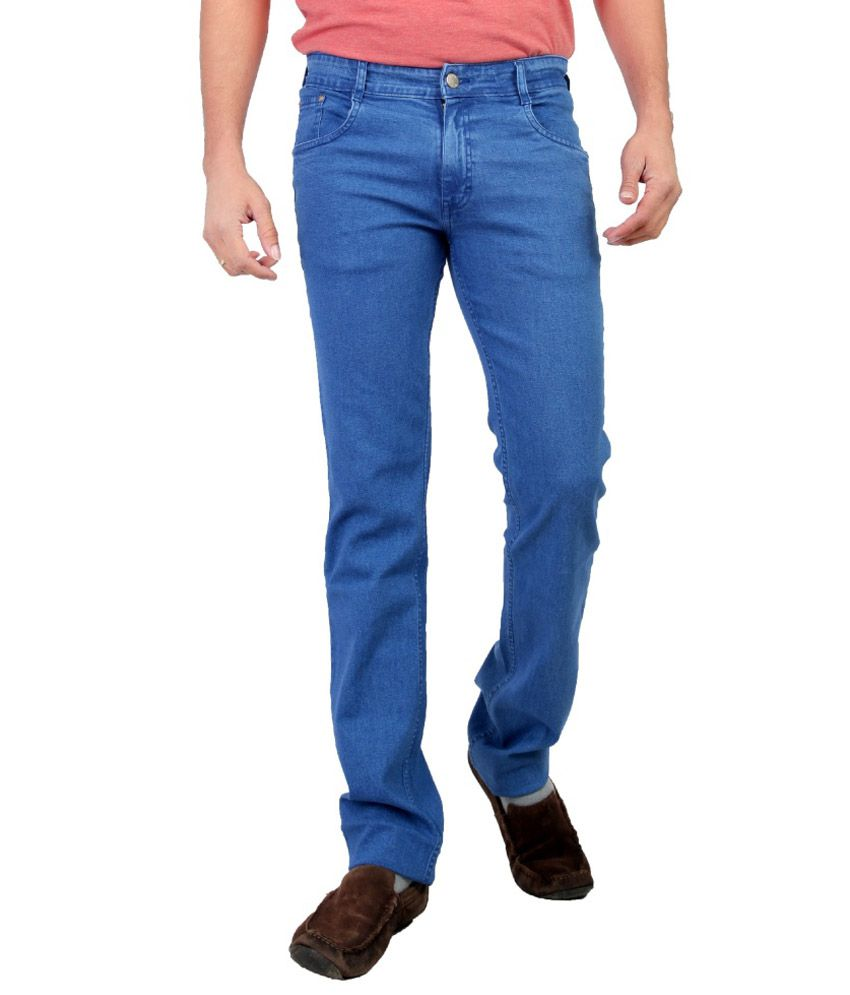 Awack Blue Slim Fit Jeans