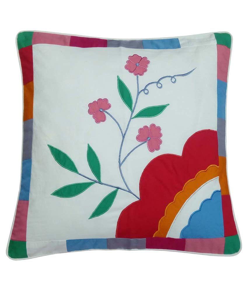 Hugs'n'Rugs Single Cotton Cushion Covers 40X40 cm (16X16)