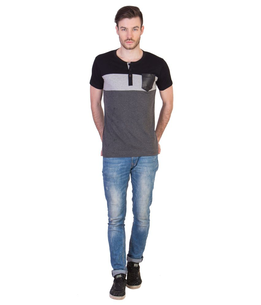 Acomharc Inc Multicolor Cotton T-Shirt