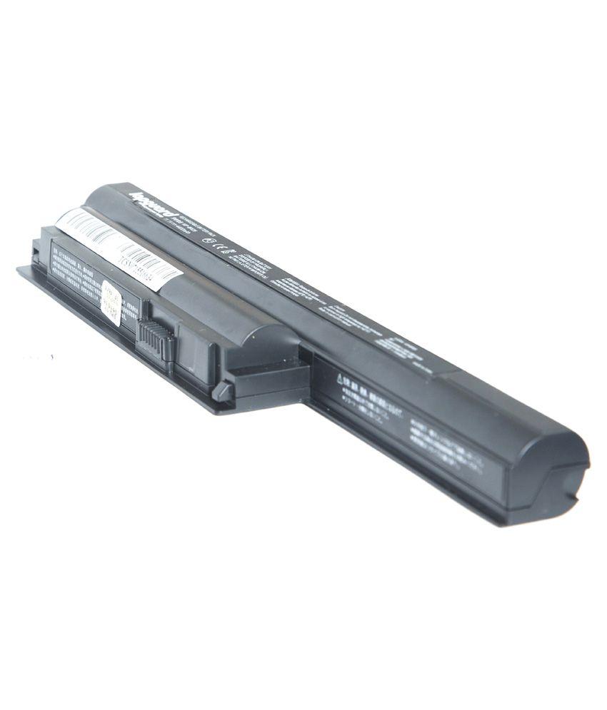 Lapguard 4400 mAh 6 Cell Laptop Battery For Sony VPCEH1E1E - Black