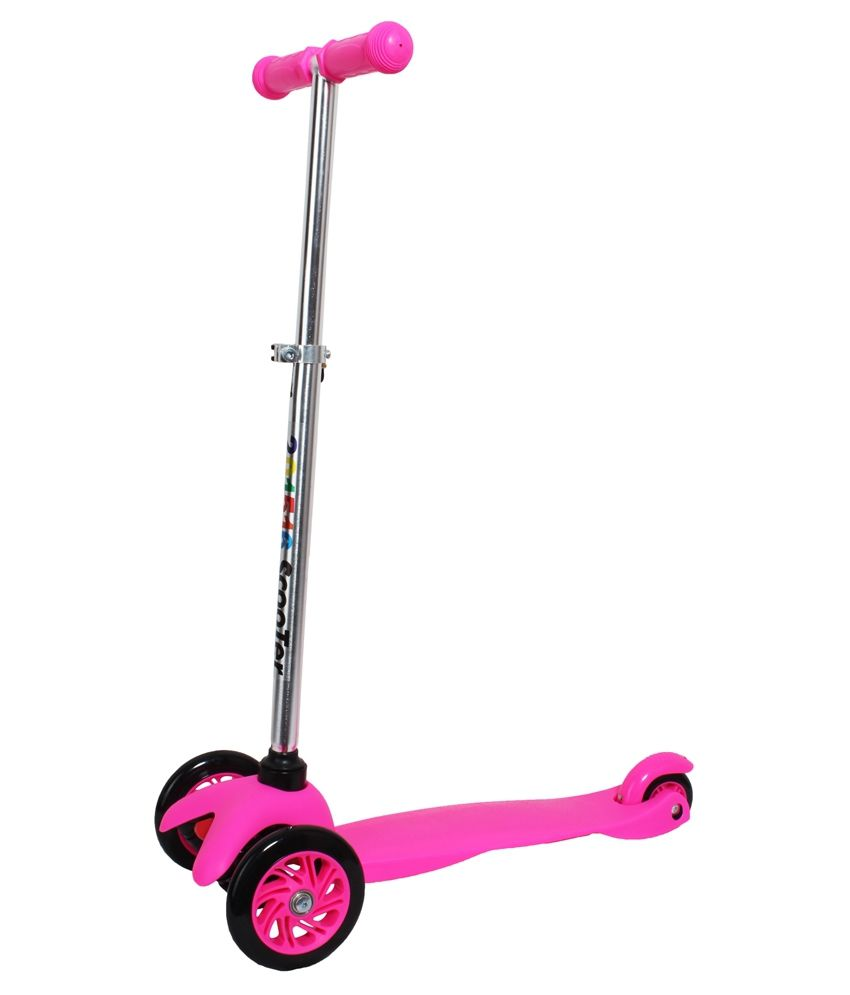 Saffire Kids Twist Scooter Pink