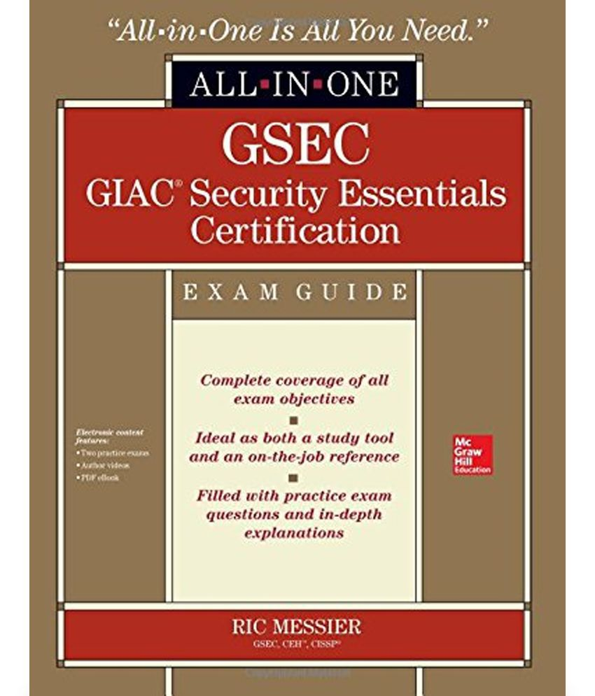 Gsec giac security essentials certification exam guide with cdrom gsec giac security essentials certification exam guide with cdrom xflitez Images