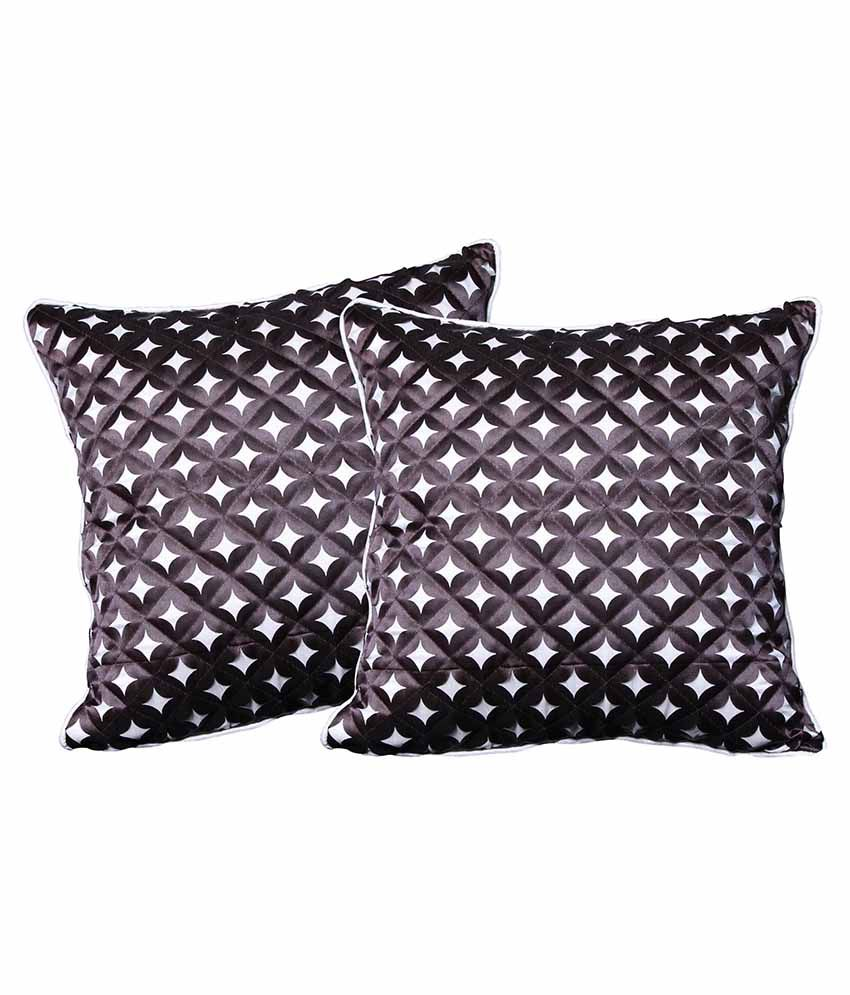 Car Vastra Cushion Covers 12 X 12 Inches - Pack Of 2