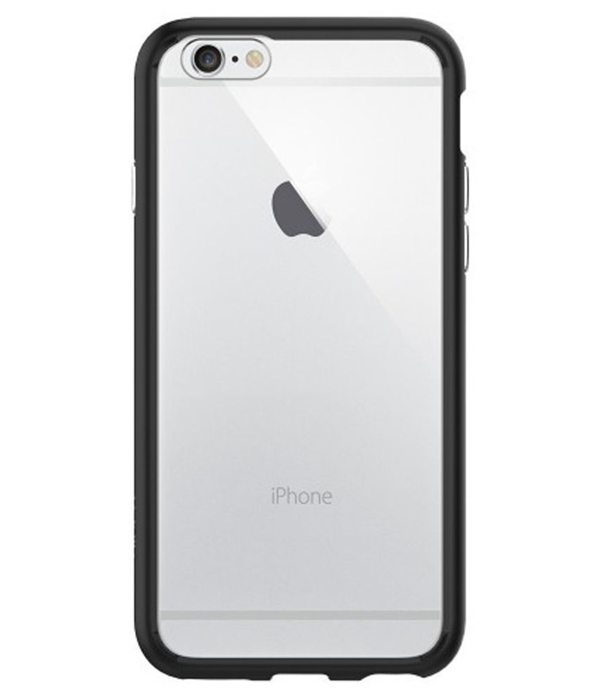 competitive price 323a0 429b1 Spigen iPhone 6S/6 Case Ultra Hybrid (Black) SGP11600