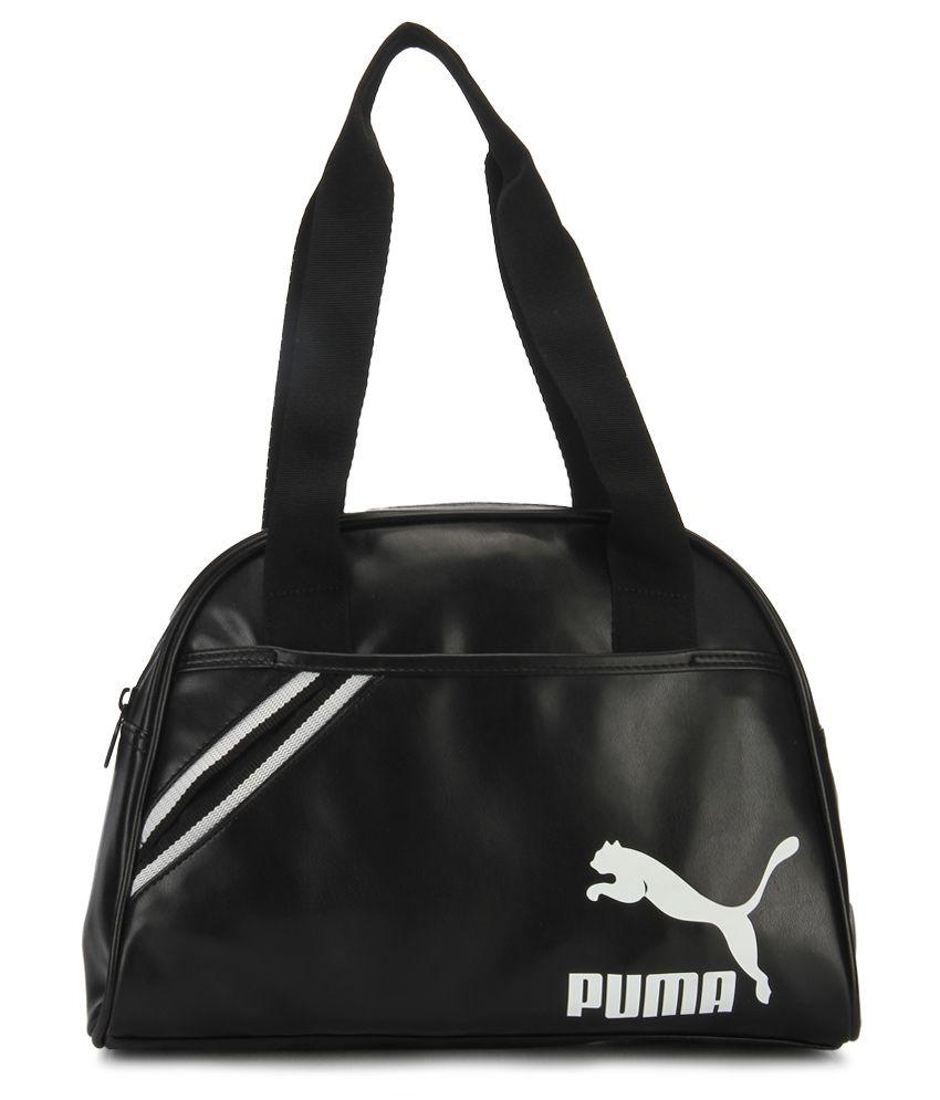 0e0ec5889e7 Puma Archive Black Women Handbag - Buy Puma Archive Black Women Handbag  Online at Best Prices in India on Snapdeal