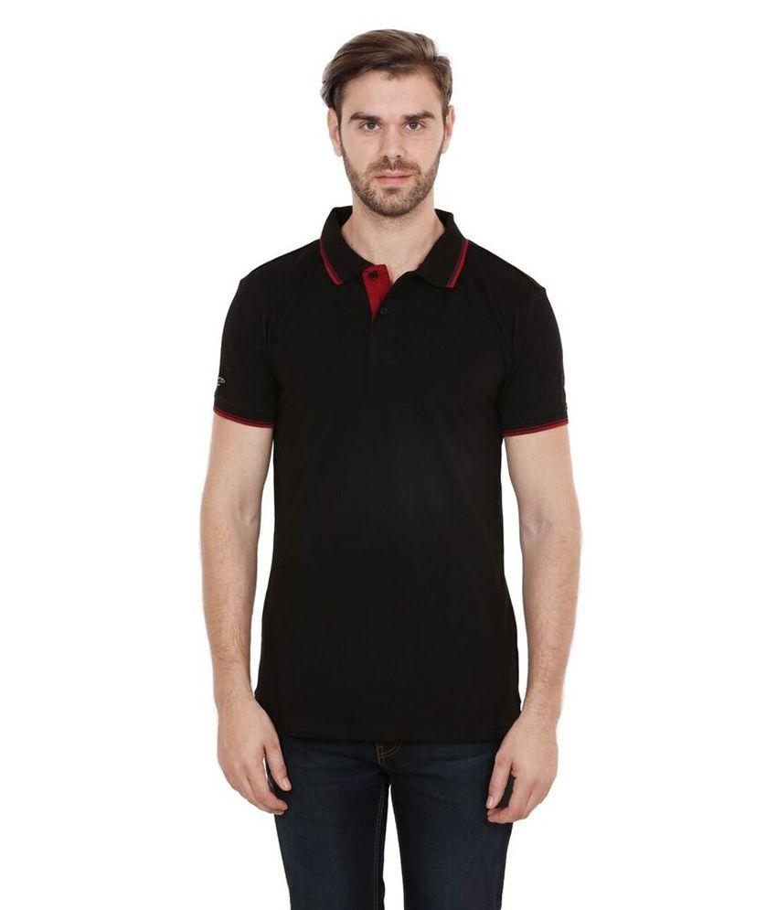 Black t shirt low price - Ruggers Black T Shirts