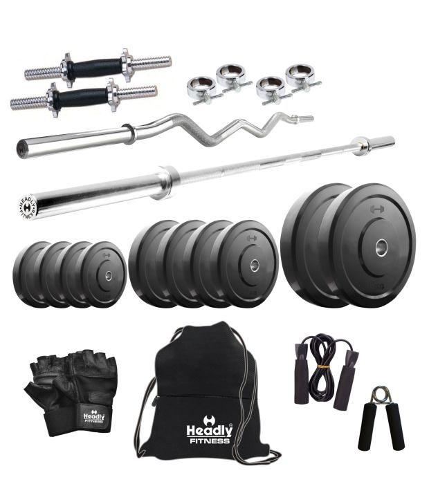 Dumbbell Set Mr Price Sport: Headly 50kg Home Gym, 14 Inch Dumbbells, 2 Rods, Gym