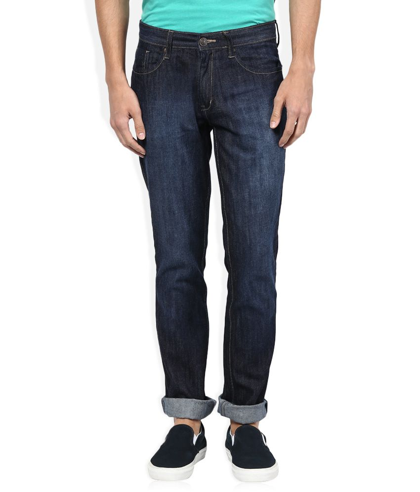 Rusty Jeans Blue Regular Fit Jeans Single
