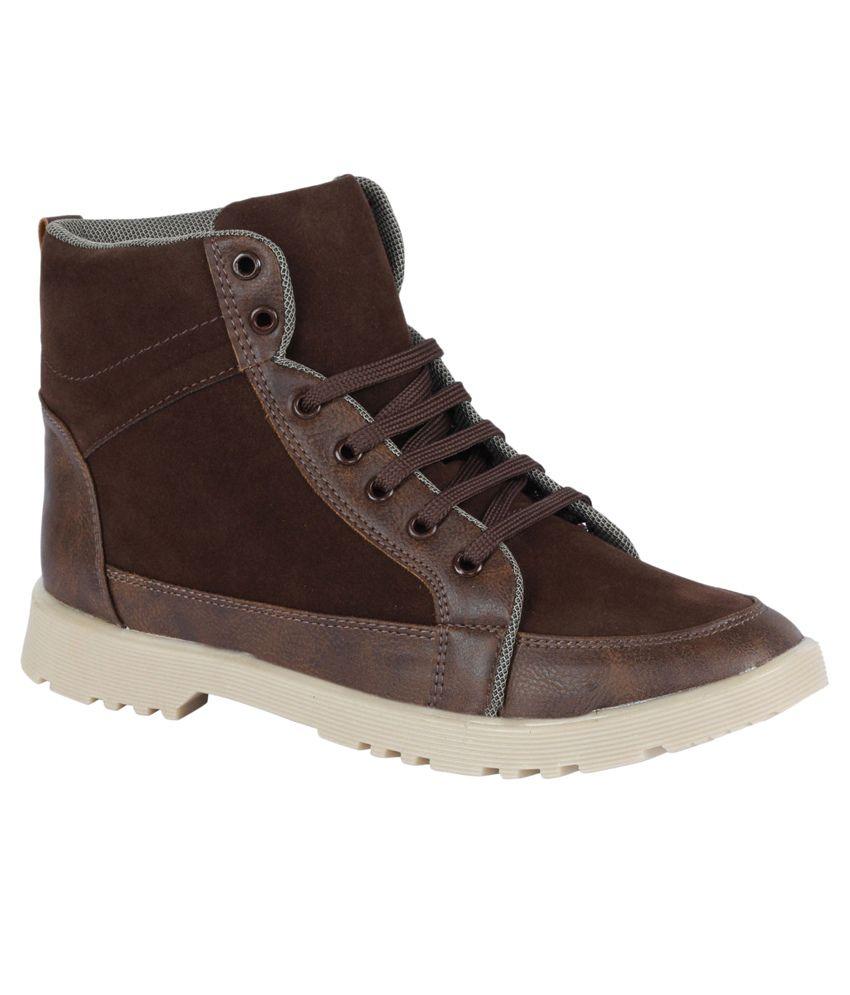 Kraasa Brown Boots