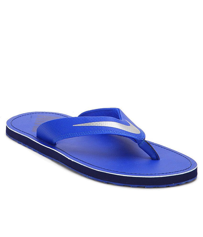 d1f1faa74 Nike Chroma Thong 4 Racer Blue- Chrome- Loyal Blue Flip Flops Art  N724324402 Price in India- Buy Nike Chroma Thong 4 Racer Blue- Chrome-  Loyal Blue Flip ...