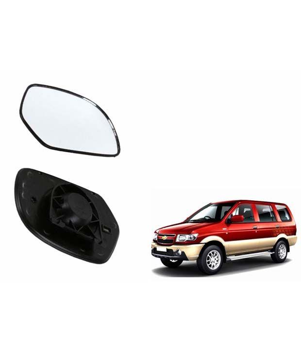 Speedwav Car Rear View Side Mirror Glass Left Chevrolet Tavera Buy