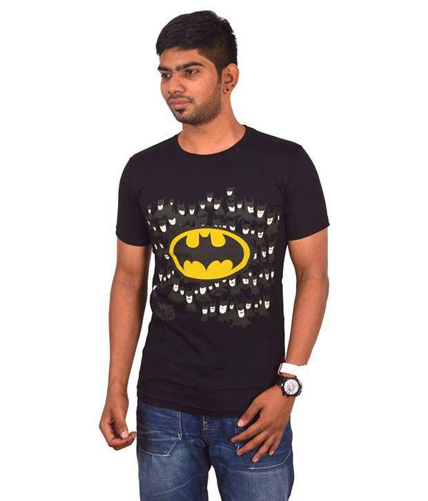 Rogue Black Round T Shirts