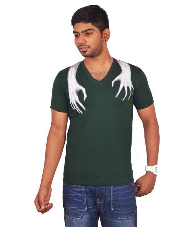 Rogue Green V-Neck T Shirts