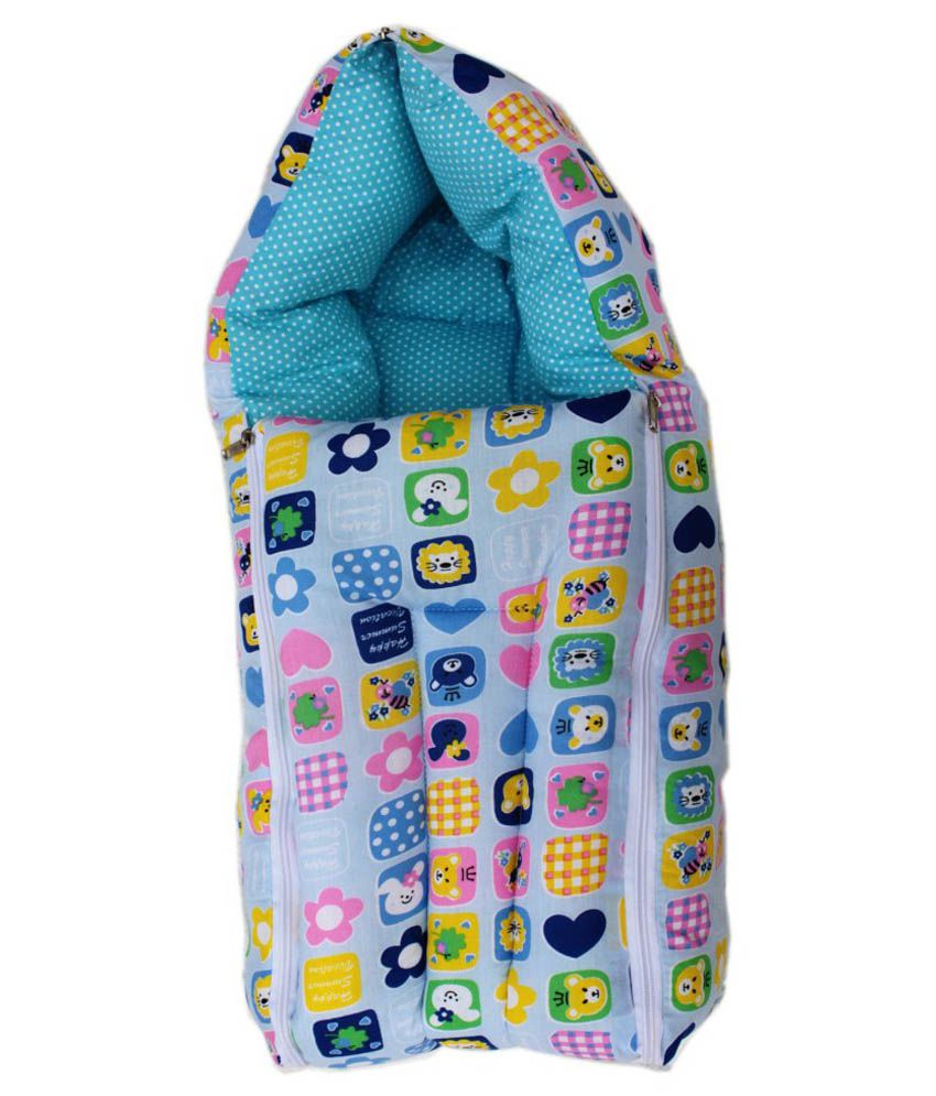 Amardeep Multicolour Cotton Sleeping Bag