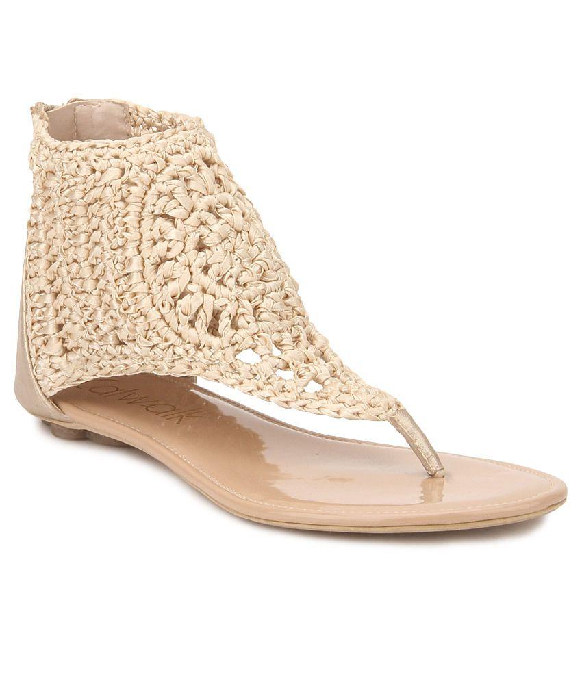 e3fec36fdd8e Catwalk Beige Sandals Price in India- Buy Catwalk Beige Sandals Online at  Snapdeal