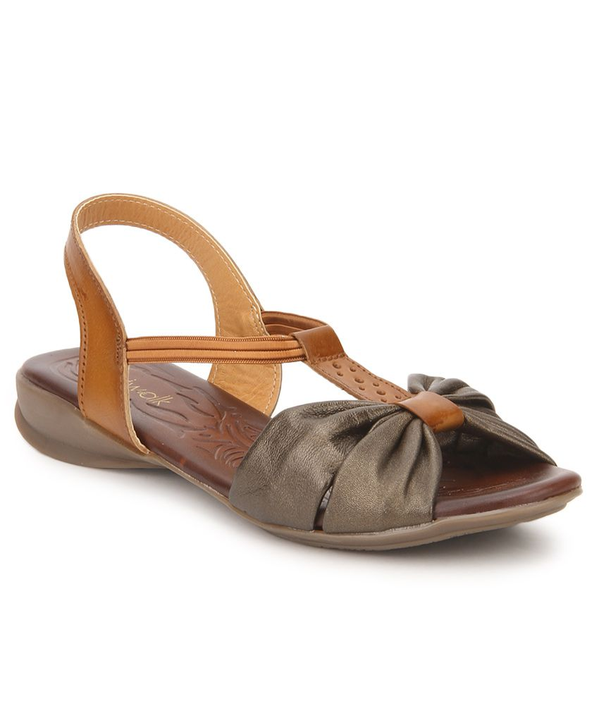 Catwalk Tan Sandals