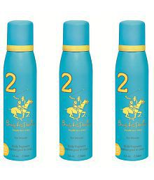 Beverly Hills Polo Club Deodorant Spray No 2 (Pack of 3) For Women