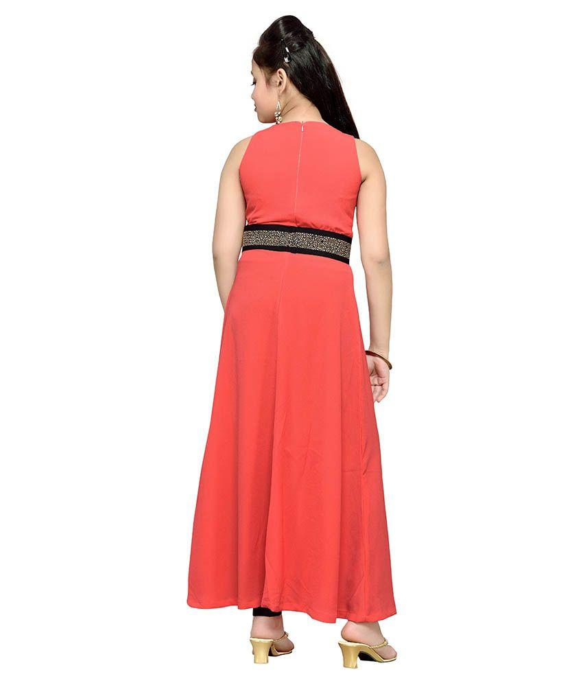 4d0bd4d175 Hunny Bunny Orange Dresses For Girls - Buy Hunny Bunny Orange ...