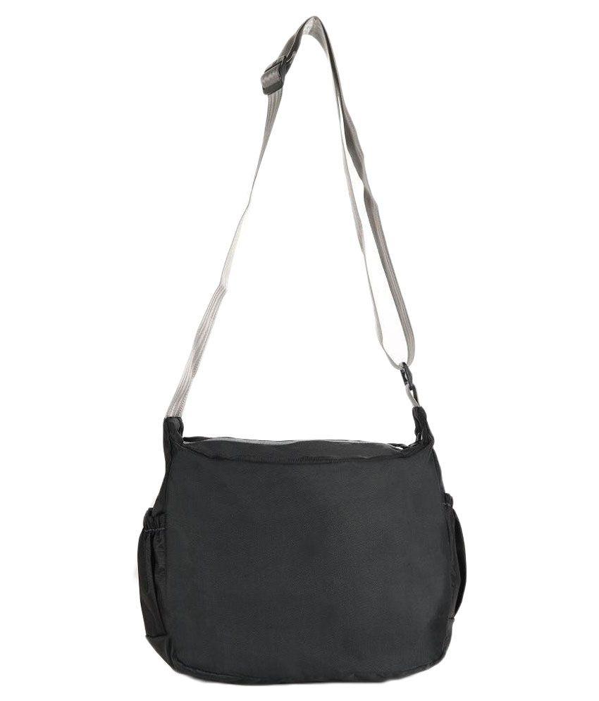 8714b1591 Novex Black Synthetic Sling Bag - Buy Novex Black Synthetic Sling ...