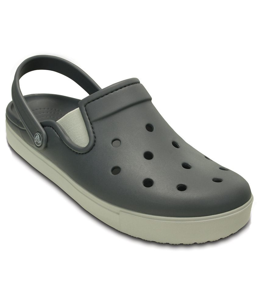 c13a381d59ce Crocs Relaxed Fit Gray Floater Sandals - Buy Crocs Relaxed Fit Gray Floater  Sandals Online at Best Prices in India on Snapdeal