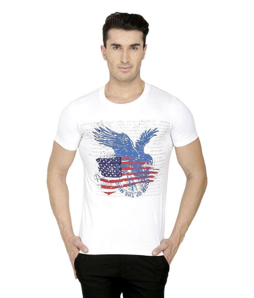 San Vertino White Round T Shirts Pack of 3
