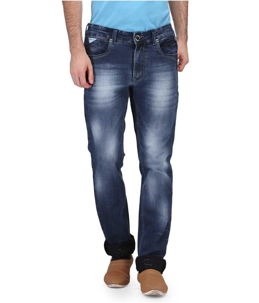 Canary London Blue Slim Fit Jeans Single