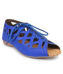 Bonzer Blue Ballerinas largest supplier prices cheap online free shipping QksSAc