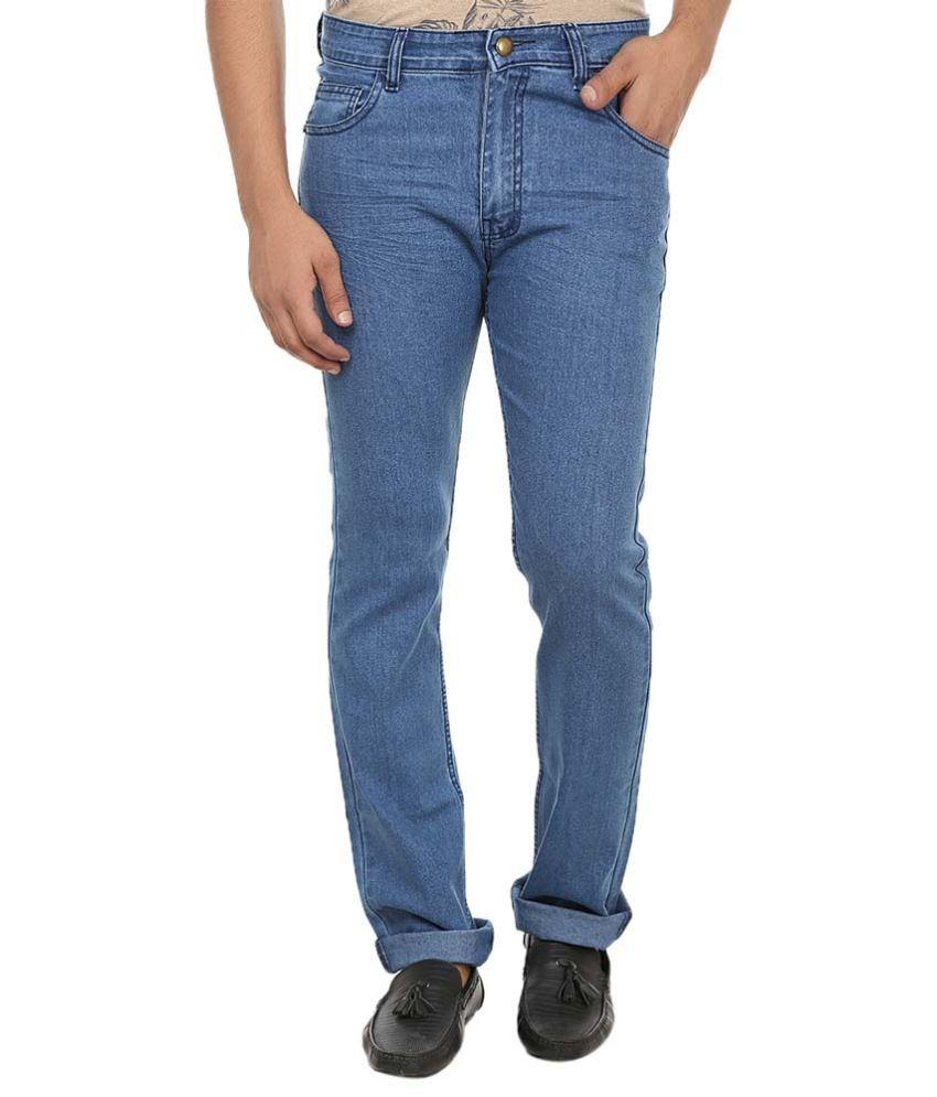 London Buck Jeans Blue Slim Fit Jeans