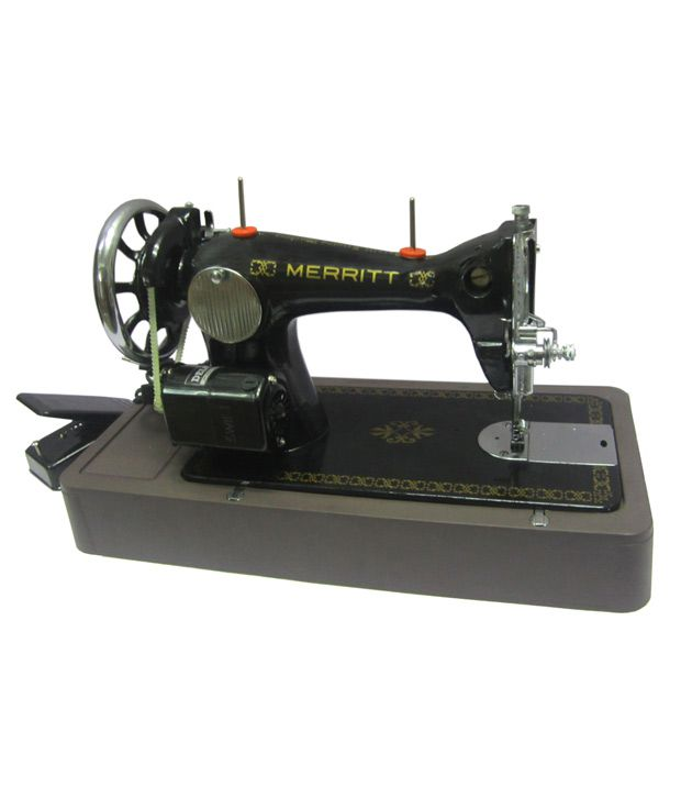 Merritt Electric Sewing Machine With Deluxe Motor And Base Price In Classy Merritt Sewing Machine Price