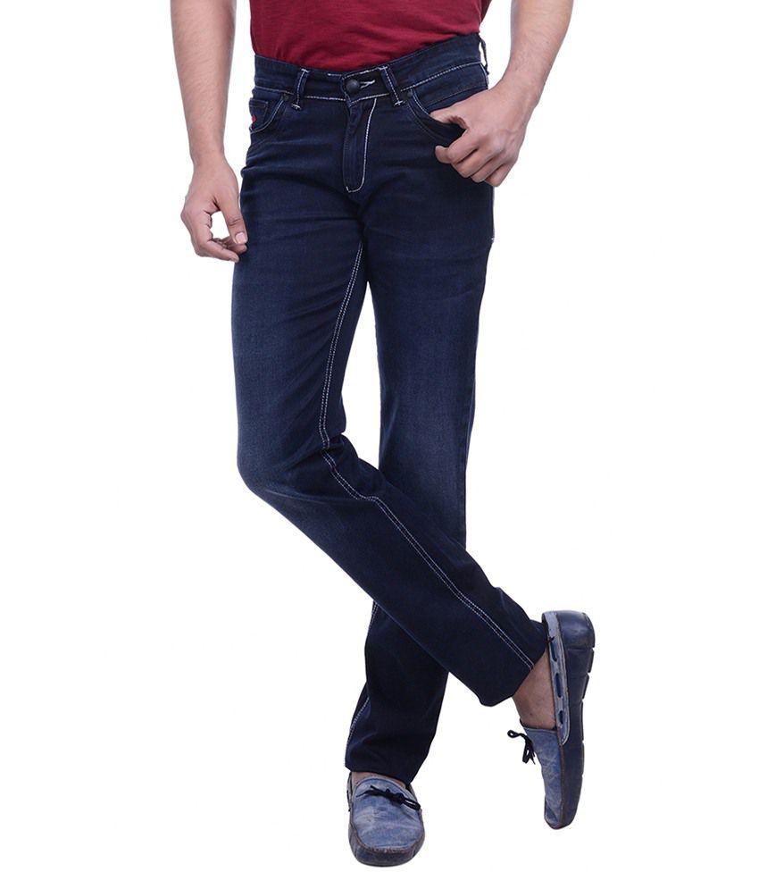 Hoffmen Blue Slim Fit Jeans
